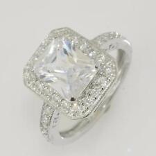Unbranded Emerald Fine Diamond Rings
