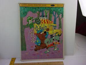 Hoppity Hooper 1965 VINTAGE frame tray puzzle Frog Bee hive Prof Waldo