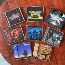 Lot CD Metal japonais (Babymetal, Blaze, Asterism) dont 1 édition limité jap