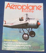 AEROPLANE MONTHLY JANUARY 1974 - A SHADOW OF THE RISING SUN