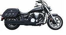 Rush Exhaust -Y1135ST-175 - 2:2 Full System Straight Tip Black Yamaha VStar 1300