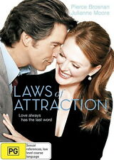 Laws Of Attraction - Comedy / Romance - Pierce Brosnan, Julianne Moore - NEW DVD
