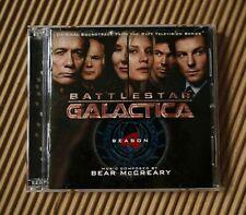 BATTLESTAR GALACTIC SEASON 4 SOUNDTRACK CD - Music Compose by Bear McCreary