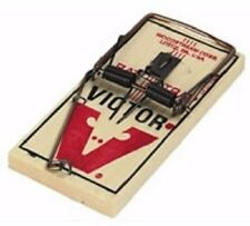 Victor Metal Pedal Rat Traps 6 traps M200