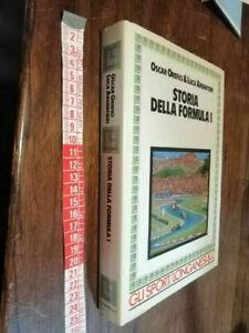 LIBRO -STORIA della formula 1 (Italiano) gli sport Longanesi 1987