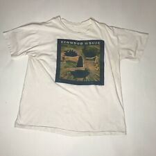 New listing Vtg 1991 Crowded Horse Band Tee Mens L Woodface Tour Concert Tshirt Rare Rock