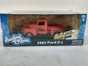 1952 Ford F-1 Pickup Sanford And Son Salvage 1:43 Diecast Greenlight Hollywood