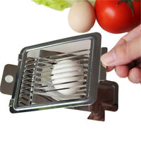 Egg Cutter Stainless Steel Egg Slicer Strawberry Slicer Cutter Tomato Slicer  HI