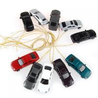 10 rooms painted light burning car model scale cable w / N (1 - 150) X2U9