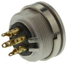 Lumberg KFV Series, 7 Pole Din Socket Socket, DIN EN 60529, 5A, 250 V ac IP40