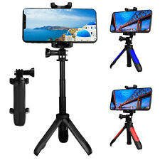 Selfie Tripod Stand Mount Table Desktop Monopod Phone Holder For iPhone Samsung