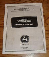 2005 John Deere Power Flow C Series 54C 62C Mower Owners Operators Manual 05