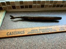 VINTAGE  NAIL PULLER TOOL WITH WOODEN HANDLE