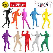 Adult Men Women Spandex Costume Full Body Suit Zentai Morph Invisible Morphsuit