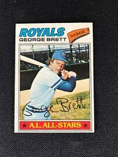 1977 Topps George Brett #580 Kansas City Royals *26