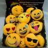 Emoji Smiling Emoticon Soft Stuffed Plush Toy Key Chain Clip Ornament Gift