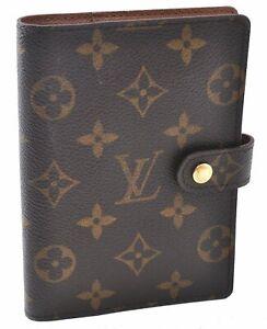 Authentic Louis Vuitton Monogram Agenda PM Day Planner Cover R20005 LV C3692