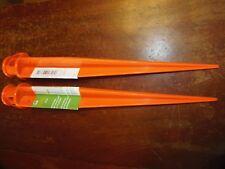 "2 - 16"" Orange Ground Stake Sticks       ( PO-52 )"