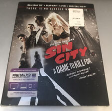 Frank Millers Sin City: A Dame to Kill For 3D (Blu-ray/Dvd, 2014, 3-Disc Set)