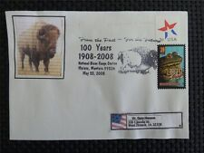 Estados unidos Bison bisontes bisonte europeo wisente Buffalo self made cover c4746
