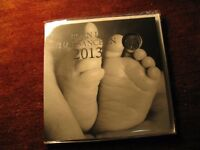 2013 Canada Baby Feet 25 Cents Coin In RCM Album Rare Set.