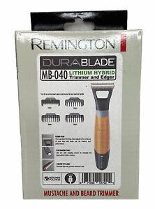 Remington DuraBlade Lithium Hybrid Men's Rechargeable Trimmer Mustache & Beard