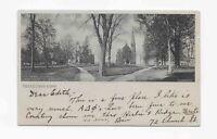 Vintage Postcard * COLLEGE CAMPUS * WESLEYAN UNIVERSITY * MIDDLETOWN * CT * 1904