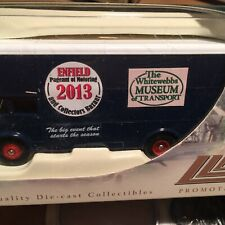 LLEDO PROMOTIONAL  DIECAST !.7/6 SCALE MODEL TRUCK >ENFIELD PAGENT 2013