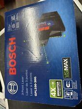 Bosch Gpl100 30g 3 Point Green Laser Level New
