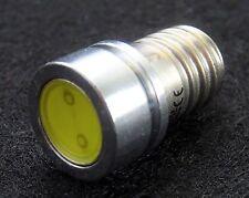 4v 6v e10 ey10 1 Watt COB LED schraubsockel filettatura Lampada Bicicletta tensione CA