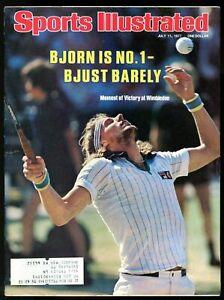 SI: Sports Illustrated July 11, 1977 Bjorn Borg, Tennis, VERY GOOD