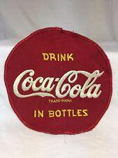 "7"" Embroidered Drink Coca Cola In Bottles Jacket Patch Rare Nice Large Vintage"