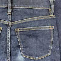 """J. CREW Womens 9"""" High Rise Toothpick Skinny Ankle Stretch Jean Size 26 27x27"""
