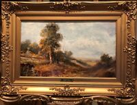 JOSEPH THORS FINE OLD MASTER OIL PAINTING 19th Century by GOLD GILT FRAME