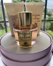 Acqua Di Parma Rosa Nobile Edp 50ml Perfume, Body Creme & Shower Gel Gift Set