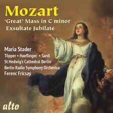 Mozart Great Mass in C Minor K427exsultate Jubilate 5055354412356
