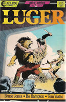 LUGER mini-series set (3) #1 #2 #3 (1986) Eclipse Comics FINE