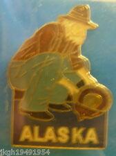 Alaska Hat Lapel Pin HP3588