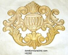 """WOOD EMBOSSED APPLIQUE 8 1/4""""H X 9 3/4""""W         HQ282"""