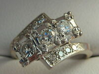 14Kt  WHITE GOLD  1 CARAT HIGH END VS DIAMOND LADIES RING!