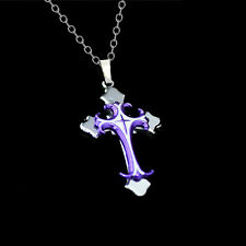 Fashion Religion Cross Pendant Necklace Women's Men's Jewelry Charm Gifts Party