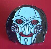 Saw Pin Horror Pin Jigsaw Movie Pin Enamel Retro Metal Brooch Badge