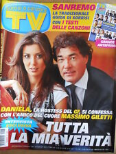 TV Sorrisi e Canzoni n°7 2009 Numero Speciale Festival Sanremo con testi [D48]
