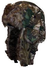 Hardwoods Camouflage Russian/Hunters W/Soft Faux Fur Winter Hat, Ski #145 Autumn