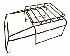 Integy C28322BLACK Realistic Outer Roll Cage for 1/10 D90 Gen-2 Scale Body