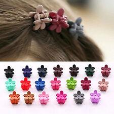 20 Stück Mini-Haarklammer mit Blumenornament Haar-Accessoire für Frauen/Mädche