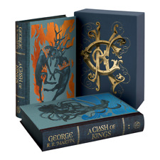 George R. R. Martin: A Clash of Kings, Game of Thrones Book II - Folio Society