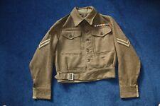Original Ww2 Other Ranks 1942 Khaki Battledress Tunic: Parachute Regiment