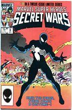Marvel Super-Heroes SECRET WARS 8 1st Symbiote Spider-Man Suit NM+ High CGC