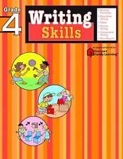 Writing Skills: Grade 4 (Flash Kids Harcourt Family Learning)  Paperback